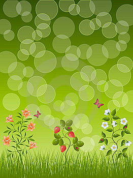Abstract Floral Background Royalty Free Stock Photos - Image: 20176118