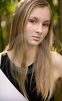 Gorgeous Teen Outside Stock Image - Image: 20181121