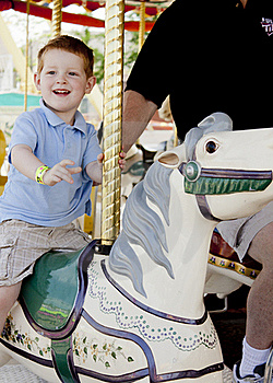 Carousel Ride Stock Images - Image: 20181634