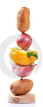 Tandoori Vegetables Royalty Free Stock Image - Image: 20181826
