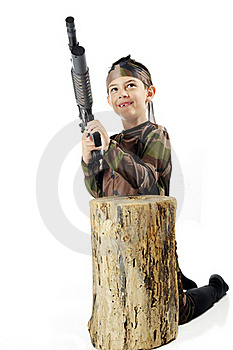 Ready At The Stump Stock Images - Image: 20184934