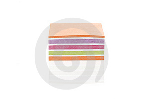 A Colorful Note Pad Royalty Free Stock Photo - Image: 20185175