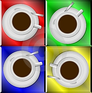 Coffee Cups Royalty Free Stock Photos - Image: 20188688