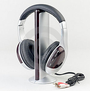 Audio Player With Headphone Royalty Free Stock Photo - Image: 20193285