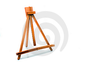 Artists Easel Royalty Free Stock Image - Image: 20193886