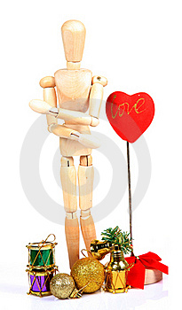 Valentine Day Decorations Stock Photo - Image: 20194120