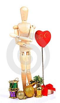 Valentine Day Decorations Stock Photo - Image: 20194120