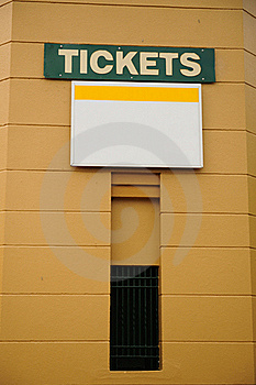 Tickets For Sale Royalty Free Stock Photography - Image: 20197987