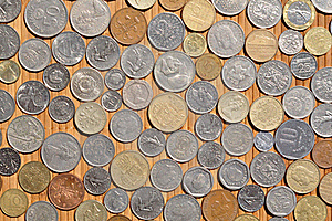 European Coins Royalty Free Stock Images - Image: 20207029