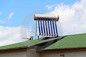 Solar Water Heater Stock Photos - Image: 20207603