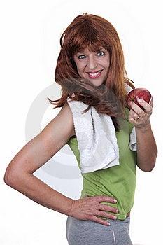Redhead Woman Sports Stock Photos - Image: 20226923