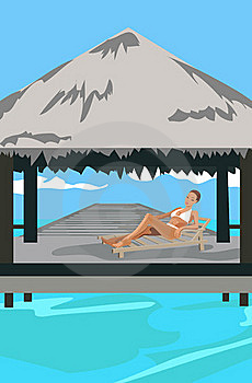 Vacation In The Tropics Royalty Free Stock Photos - Image: 20227738