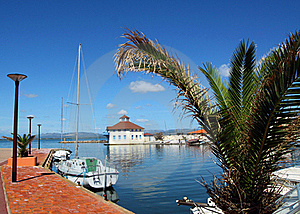 French Harbor Royalty Free Stock Photography - Image: 20233327