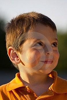 Boy Looking Stock Photo - Image: 20239580