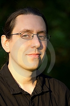 Portrait Of Man In Glasses Royalty Free Stock Photography - Image: 20239597