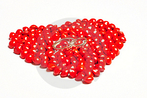Saga Seed - Rings In Our Hearts Royalty Free Stock Photo - Image: 20240345