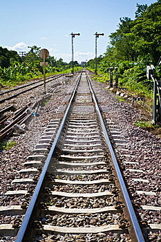 Railway Stock Photo - Image: 20241290