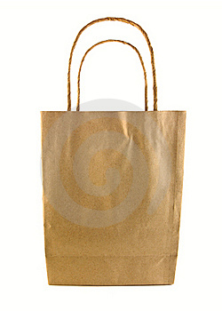 Used Brown Paper Bag Isolated Royalty Free Stock Image - Image: 20241876