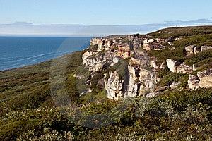 Rocas Del Mar De Barents Fotos de archivo libres de regalías - Imagen: 20242348
