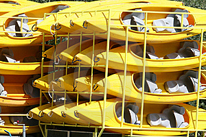 Canoes Stock Photos - Image: 20243473