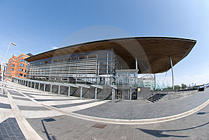 Senedd, Cardiff Bay Stock Images - Image: 20244344