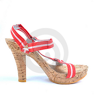 Shoe With High Heel Royalty Free Stock Images - Image: 20244669