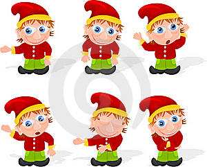 Elf Set 01 Royalty Free Stock Photography - Image: 20245127