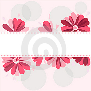 Background With Flowers Royalty Free Stock Photos - Image: 20247478