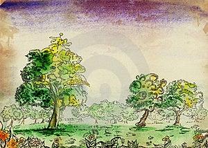 The Idyllic Landscape: Stock Photos - Image: 20248783