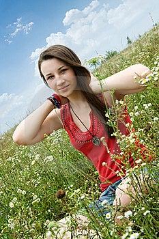 Szczęśliwi Dziewczyn Potomstwa Obrazy Royalty Free - Obraz: 20249359