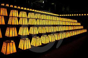 Hattasan Shrine Lantern Festival-7 Royalty Free Stock Photography - Image: 20249587