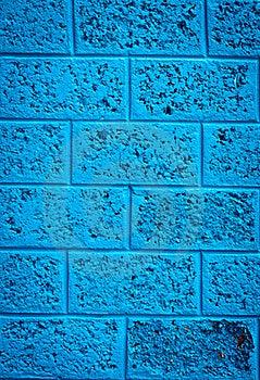 Mur Bleu Image stock - Image: 20250011