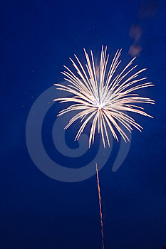 Summer Fireworks-2 Stock Photo - Image: 20252140