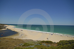 River Meets Ocean Stock Photography - Image: 20253382