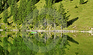 Lake In The Alps Royalty Free Stock Images - Image: 20254419