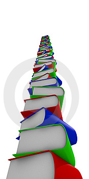 Book Stack Royalty Free Stock Photography - Image: 20256577