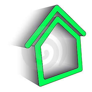 Icon Home Stock Photography - Image: 20257562