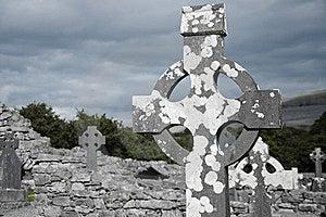 Celtic Cemetery Stock Photo - Image: 20257770