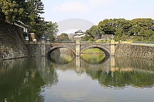 Nijubashi Bridge Stock Images - Image: 20258344