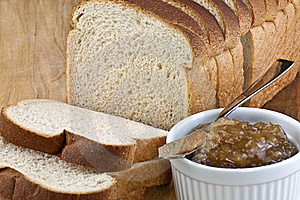 Bread And Jam Stock Photo - Image: 20260600