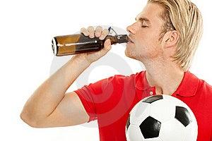 Drinking A Ber Stock Photos - Image: 20260713