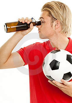 Looking In An Empty Bottle Royalty Free Stock Image - Image: 20260726