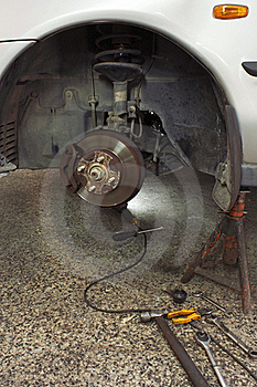 Disc Brake Royalty Free Stock Image - Image: 20262136