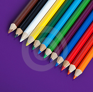 Color Pencils Royalty Free Stock Image - Image: 20264206