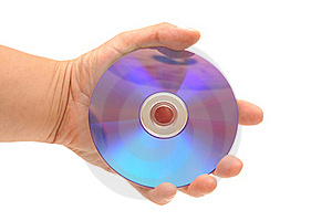 DVD In Hand Stock Image - Image: 20264711