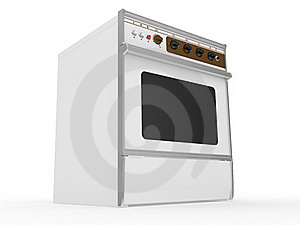 White Gas Cooker Royalty Free Stock Photography - Image: 20265347