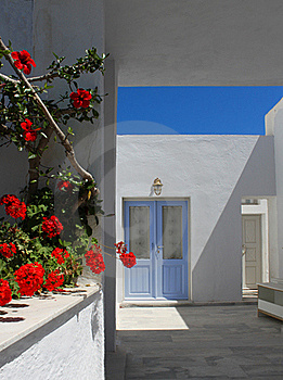 Mediterranean Doorway Royalty Free Stock Images - Image: 20267719