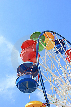 Attraction Ferris Wheel Royalty Free Stock Image - Image: 20268316