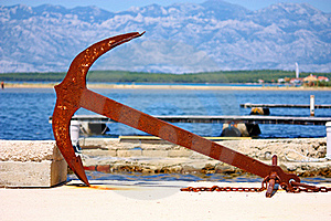 Old Anchor Stock Photography - Image: 20274562