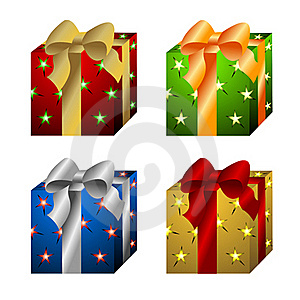 Gift Boxes Stock Photo - Image: 20276610